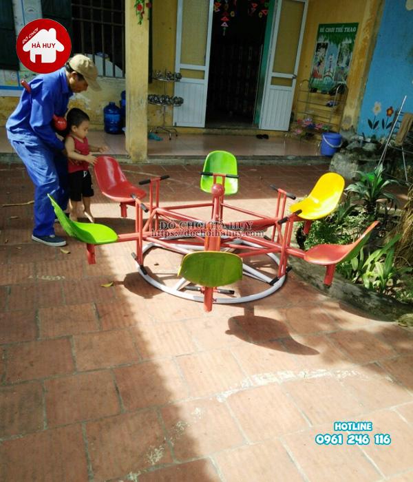 Sản xuất đồ chơi ngoài trời cho trường mầm non tại Bắc Ninh-7