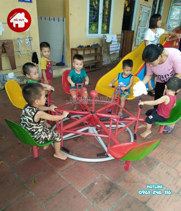 Sản xuất đồ chơi ngoài trời cho trường mầm non tại Bắc Ninh-9