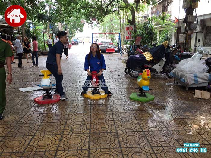 Sản xuất lắp đặt đồ chơi ngoài trời cho Quận Đoàn, Ba Đình, Hà Nội-10