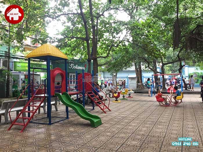 Sản xuất lắp đặt đồ chơi ngoài trời cho Quận Đoàn, Ba Đình, Hà Nội -3