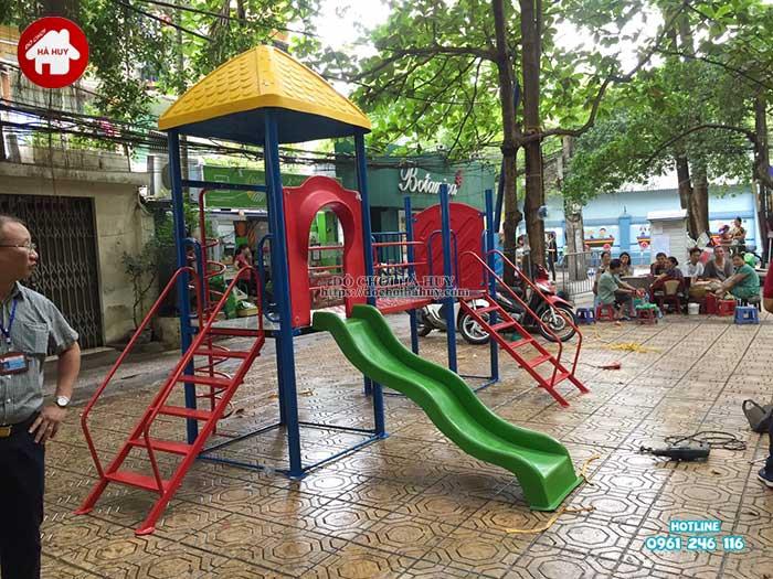 Sản xuất lắp đặt đồ chơi ngoài trời cho Quận Đoàn, Ba Đình, Hà Nội -4