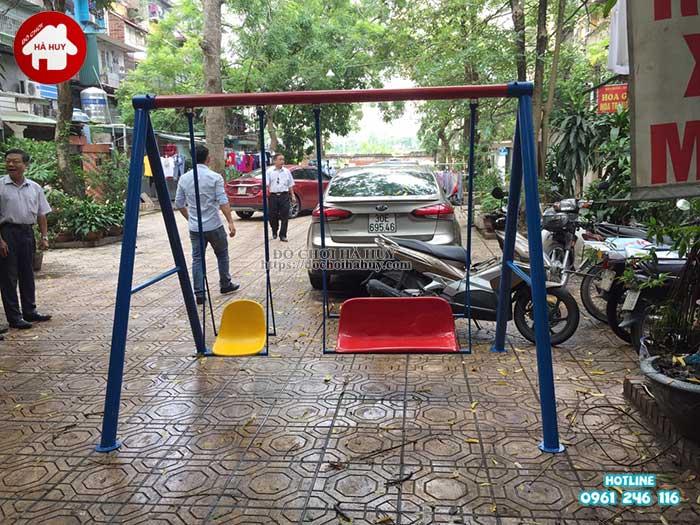 Sản xuất lắp đặt đồ chơi ngoài trời cho Quận Đoàn, Ba Đình, Hà Nội -5
