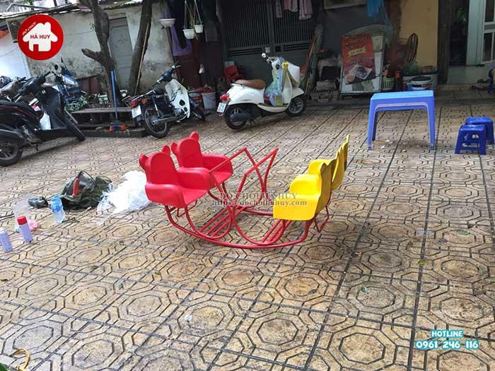 Sản xuất lắp đặt đồ chơi ngoài trời cho Quận Đoàn, Ba Đình, Hà Nội -8