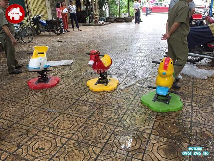 Sản xuất lắp đặt đồ chơi ngoài trời cho Quận Đoàn, Ba Đình, Hà Nội-9