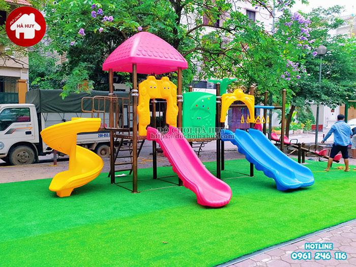 Sản xuất lắp đặt đồ chơi ngoài trời tại sân chơi khu chung cư tại Hà Nội-5