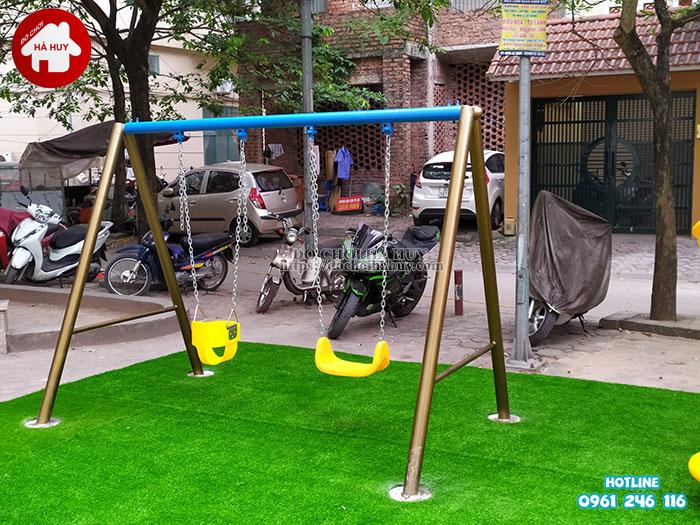 Sản xuất lắp đặt đồ chơi ngoài trời tại sân chơi khu chung cư tại Hà Nội-8