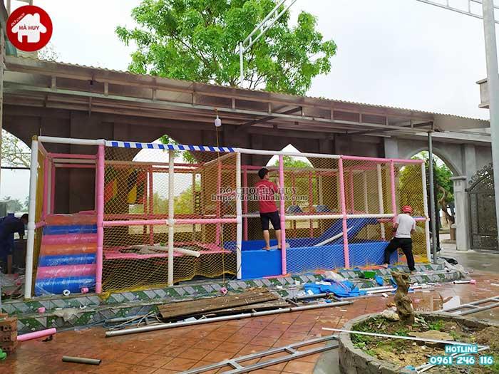 Sản xuất lắp đặt nhà liên hoàn trong nhà cho khách tại Vĩnh Phúc-2