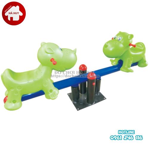 Các mẫu bập bênh đòn 2 chỗ nhập khẩu cao cấp tại đồ chơi Hà Huy-5