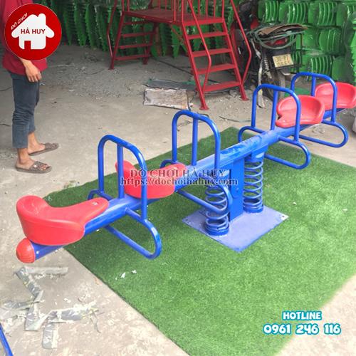 Các mẫu bập bênh lò xo nhựa sắt ngoài trời giá rẻ tại đồ chơi Hà Huy-2