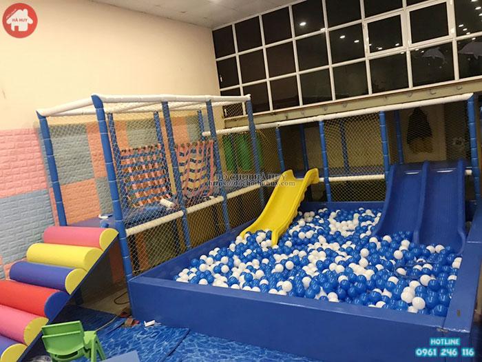 Mẫu khu vui chơi liên hoàn trong nhà cho bé