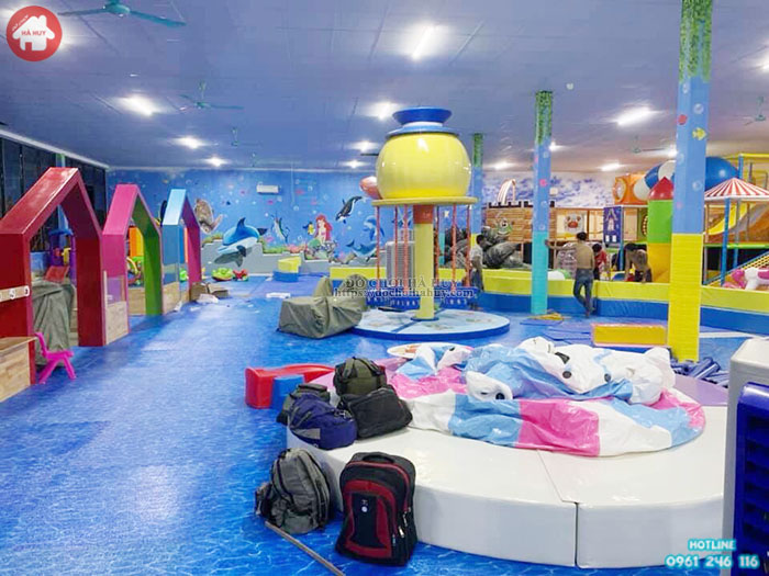 Mẫu khu vui chơi liên hoàn trong nhà cho trẻ em LH-023