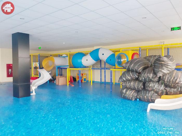 Mẫu khu vui chơi liên hoàn cho bé chơi và giải trí LH-022