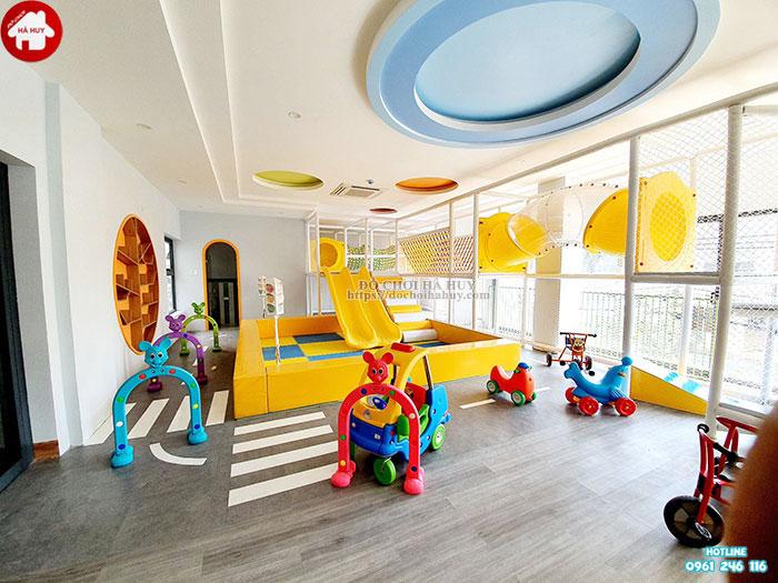 Nhà chơi liên hoàn cho các khu vui chơi trẻ em trong nhà LH-017