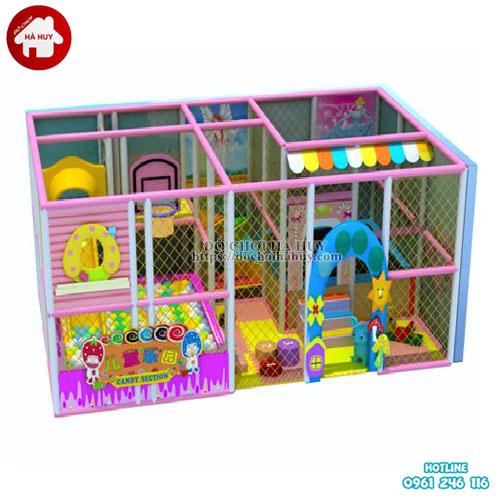 Mẫu khu vui chơi liên hoàn trong nhà cho bé LH-020