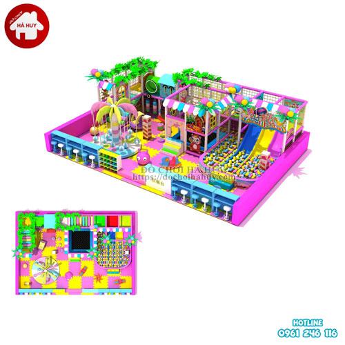 Mẫu khu vui chơi liên hoàn trong nhà cho trẻ em LH-23