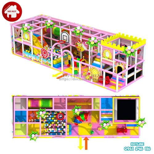 Mẫu khu vui chơi liên hoàn trong nhà đẹp giá rẻ LH-003