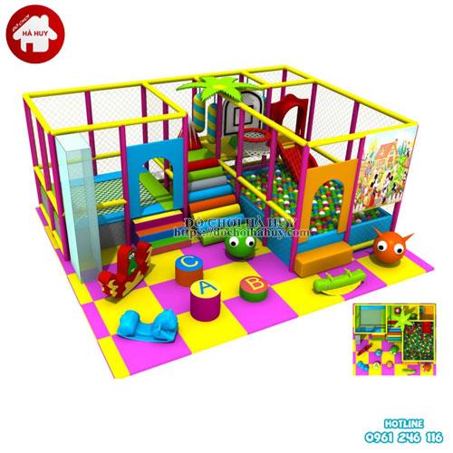 Nhà chơi liên hoàn trong nhà cho bé LH-014