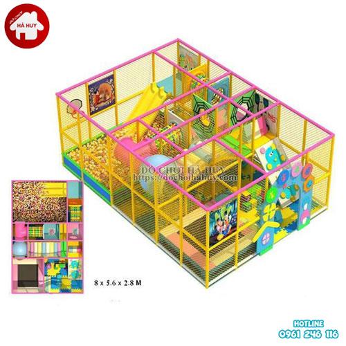 Nhà liên hoàn trong nhà cho khu vui chơi LH-015