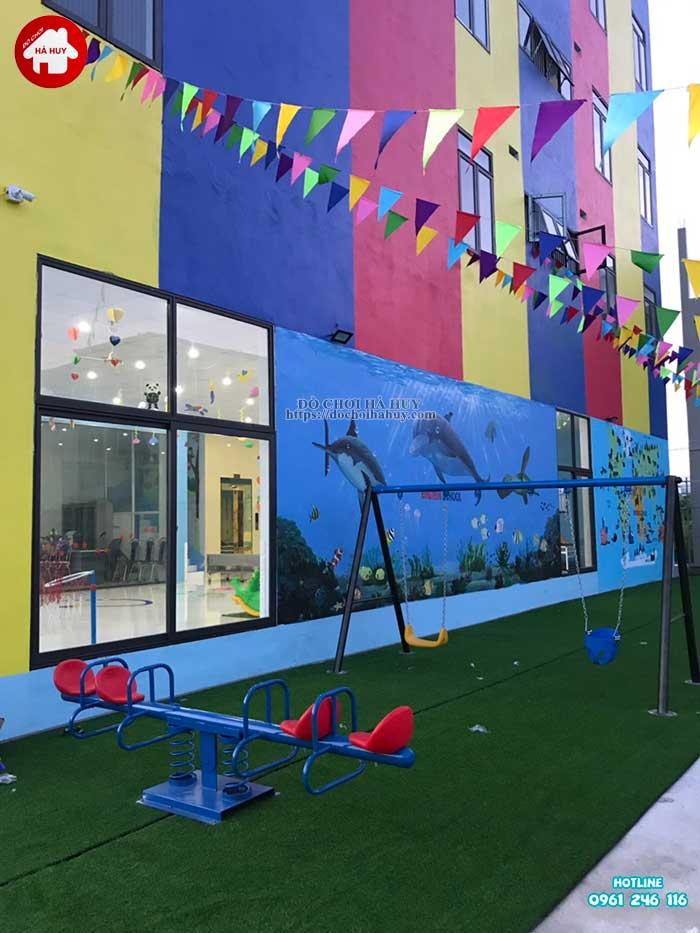 Sản xuất đồ chơi ngoài trời cho trường mầm non tại Ninh Bình-10