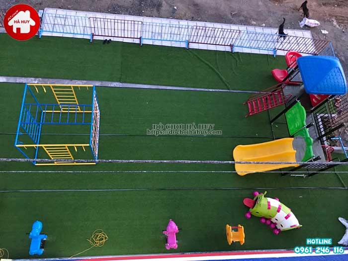 Sản xuất đồ chơi ngoài trời cho trường mầm non tại Ninh Bình-2