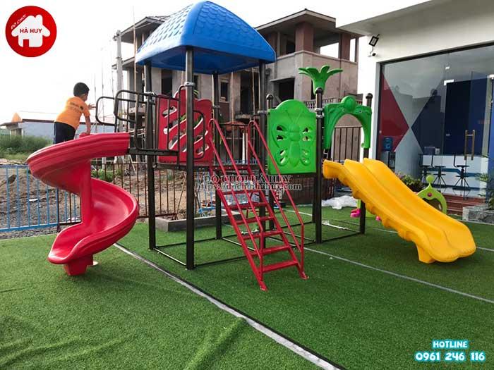 Sản xuất đồ chơi ngoài trời cho trường mầm non tại Ninh Bình-3