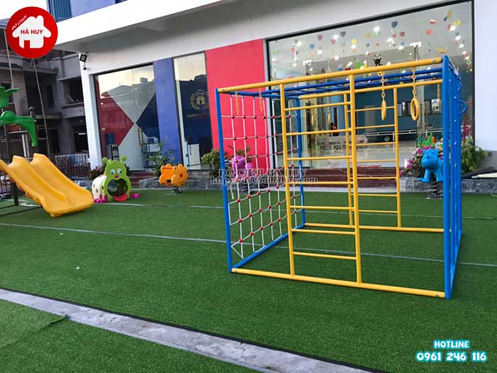 Sản xuất đồ chơi ngoài trời cho trường mầm non tại Ninh Bình-7