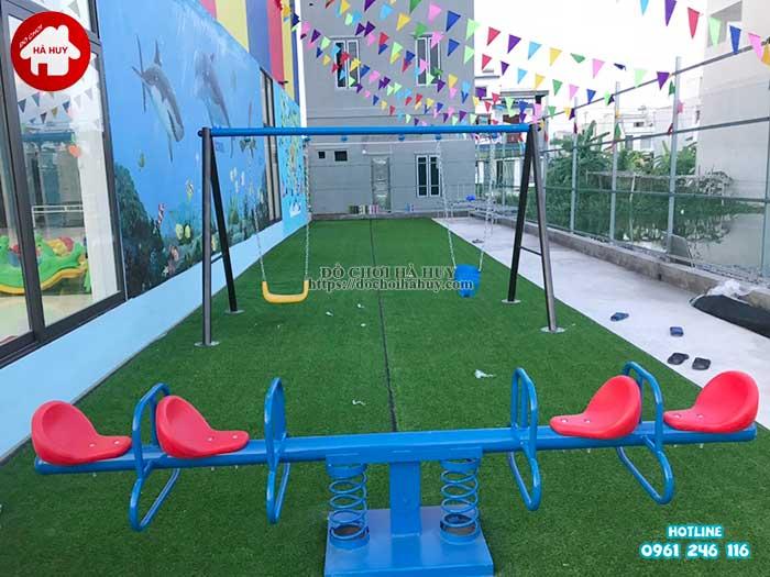 Sản xuất đồ chơi ngoài trời cho trường mầm non tại Ninh Bình-9