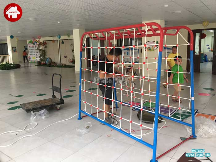 Sản xuất lắp đặt đồ chơi ngoài trời mầm non tại Hải Phòng-3