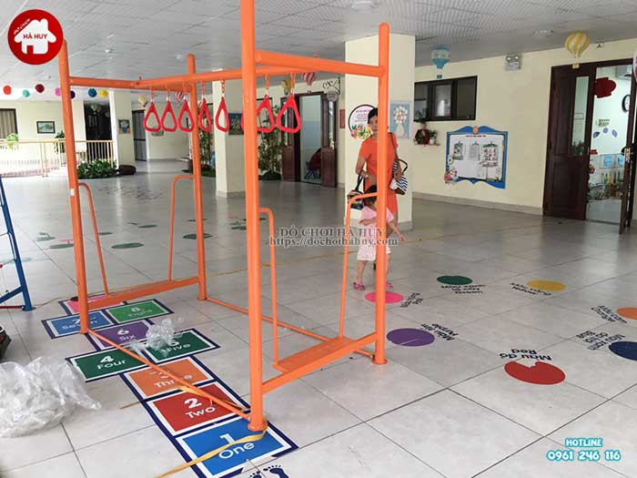 Sản xuất lắp đặt đồ chơi ngoài trời mầm non tại Hải Phòng-4