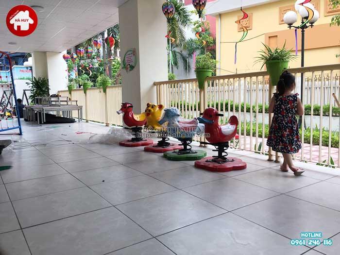 Sản xuất lắp đặt đồ chơi ngoài trời mầm non tại Hải Phòng-6