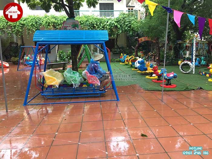 Sản xuất lắp đặt đồ chơi ngoài trời trường mầm non tại Thanh Hóa-2