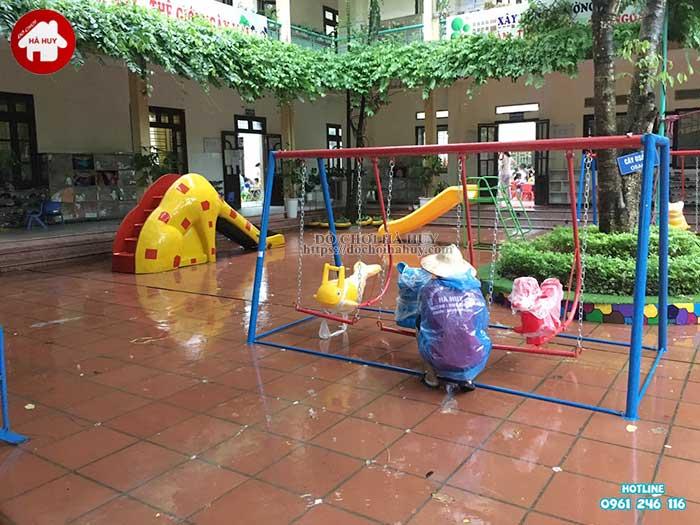 Sản xuất lắp đặt đồ chơi ngoài trời trường mầm non tại Thanh Hóa-3