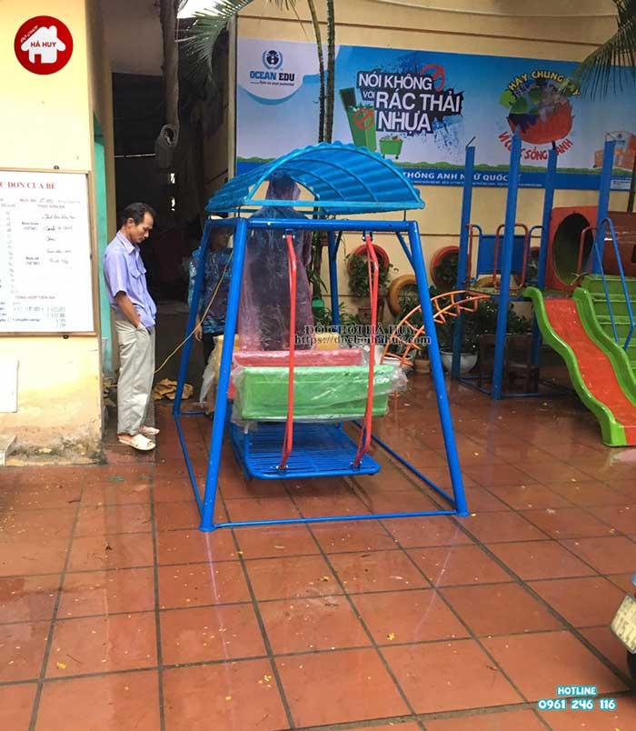 Sản xuất lắp đặt đồ chơi ngoài trời trường mầm non tại Thanh Hóa-4