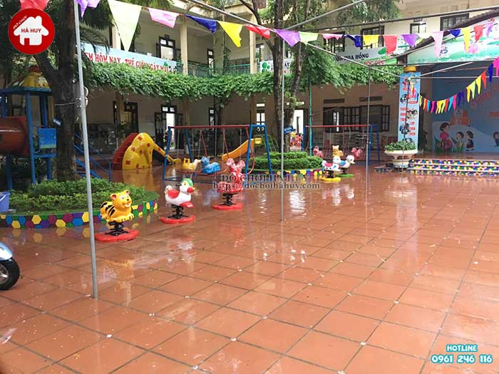 Sản xuất lắp đặt đồ chơi ngoài trời trường mầm non tại Thanh Hóa-5