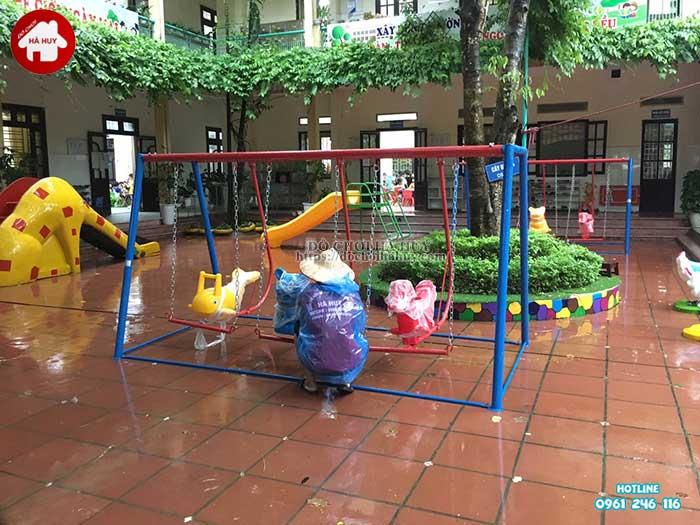Sản xuất lắp đặt đồ chơi ngoài trời trường mầm non tại Thanh Hóa-6