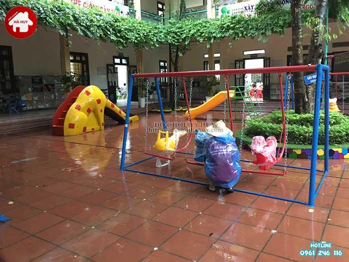 Sản xuất lắp đặt đồ chơi ngoài trời trường mầm non tại Thanh Hóa-8