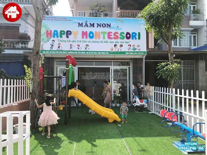 Sản xuất lắp đặt sản phẩm đồ chơi ngoài trời tại Mỹ Hào, Hưng Yên-1