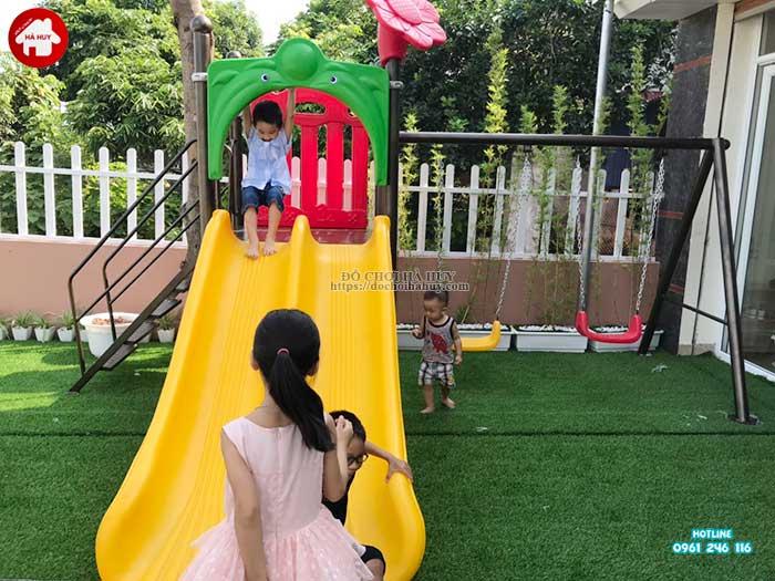 Sản xuất lắp đặt sản phẩm đồ chơi ngoài trời tại Mỹ Hào, Hưng Yên-4