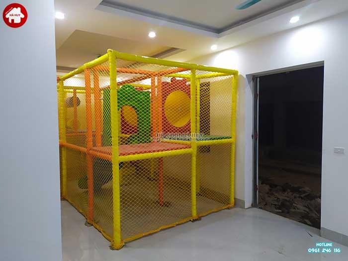 Thực tế nhà liên hoàn trong nhà khu vui chơi trẻ em-13