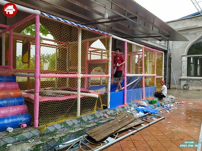 Thực tế nhà liên hoàn trong nhà khu vui chơi trẻ em-17