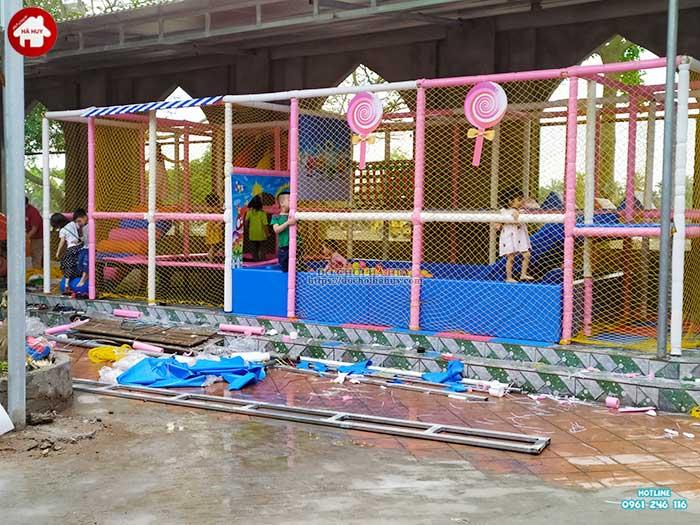 Thực tế nhà liên hoàn trong nhà khu vui chơi trẻ em-18