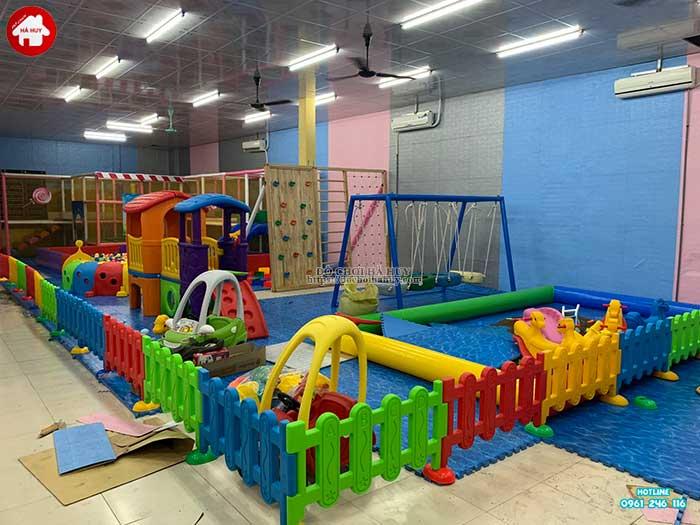 Thực tế nhà liên hoàn trong nhà khu vui chơi trẻ em-4