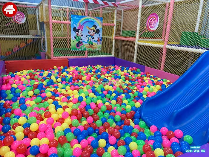 Thực tế nhà liên hoàn trong nhà khu vui chơi trẻ em-5
