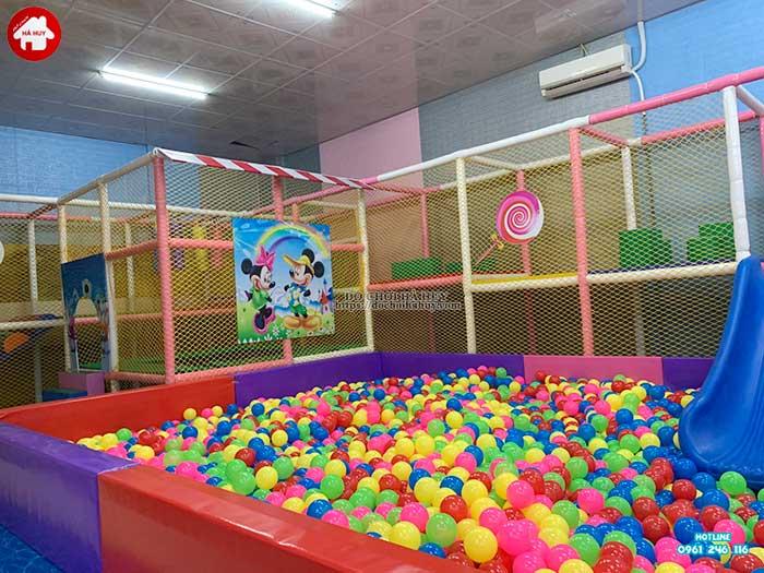 Thực tế nhà liên hoàn trong nhà khu vui chơi trẻ em-6
