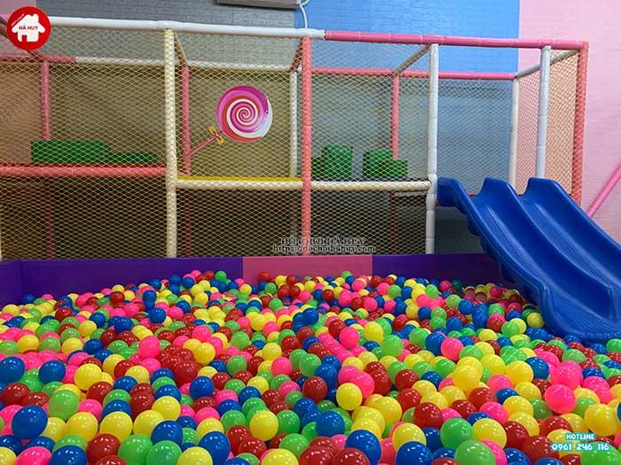 Thực tế nhà liên hoàn trong nhà khu vui chơi trẻ em-7