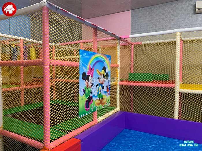 Thực tế nhà liên hoàn trong nhà khu vui chơi trẻ em-8