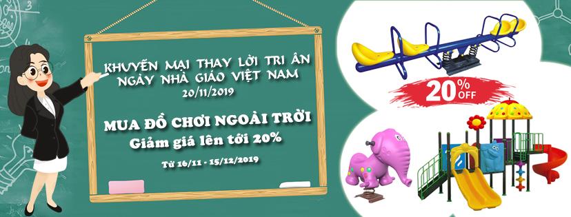 Chương trình khuyến mại nhân ngày nhà giáo Việt Nam 20/11/2019