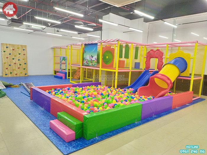 Mẫu nhà liên hoàn trong nhà khu vui chơi trẻ em LH-030
