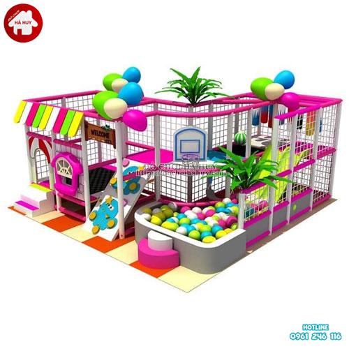 Nhà liên hoàn khu vui chơi trẻ em giá rẻ LH-29