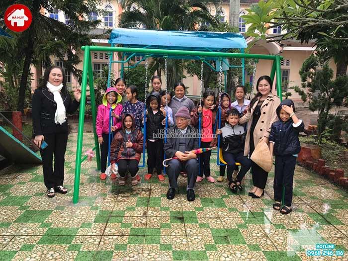 Sản xuất đồ chơi ngoài trời cho cô nhi viện tại Nam Định-1
